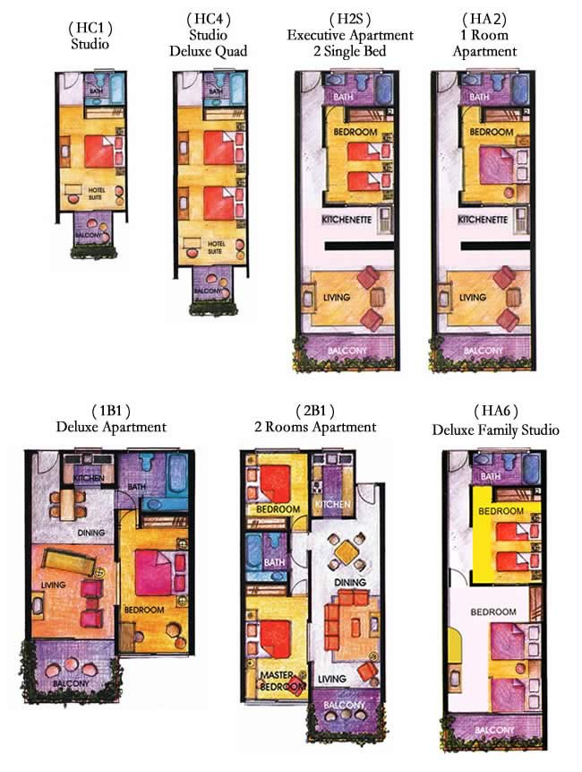 Floor Plan All Unit - 2017