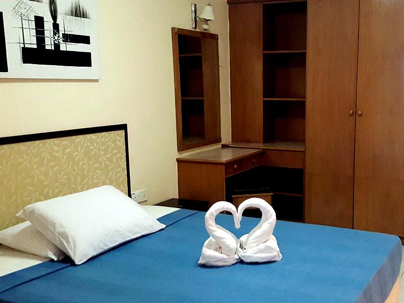 (HA1) 1 Room Apartment - Bedroom